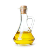 Carafe of olive oil Royalty Free Stock Images