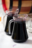 Carafe with wine Royalty Free Stock Images