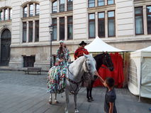 Caragialetheater Royalty-vrije Stock Foto