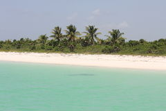 Caraibian coast Stock Photography