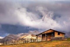 Caraiman山,罗马尼亚 免版税库存照片