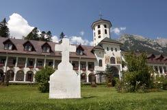 caraiman μοναστήρι Στοκ φωτογραφία με δικαίωμα ελεύθερης χρήσης