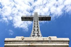 Caraiman Cross - Monument of National Heroes Stock Photo