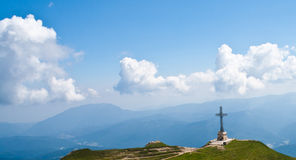 Caraiman Heroes Cross monument Stock Images