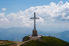 Caraiman Heroes Cross monument Stock Photos