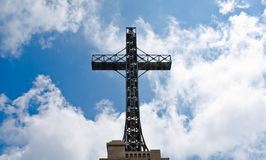 Caraiman Heroes Cross monument Stock Photo