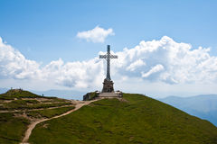 Caraiman Heroes Cross monument Stock Image