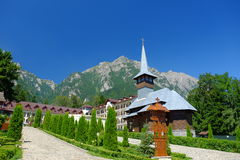 Caraiman Kloster Lizenzfreies Stockbild