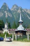Caraiman Kloster Stockbild