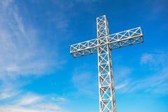 caraiman krzyż Zdjęcia Stock