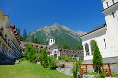 Caraiman Monastery. In Busteni, Romania royalty free stock images