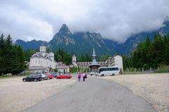 Caraiman Monastery. In Busteni, Romania Stock Image