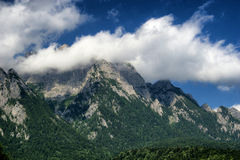 Caraiman mountain. Royalty Free Stock Image