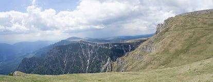 Caraiman mountain view Stock Image
