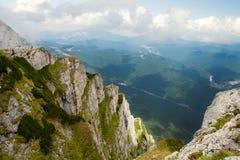 Caraiman Mountains view Stock Photography