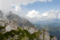 Caraiman Mountains view, Romania Stock Photo