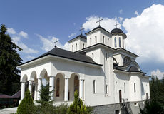 Caraiman orthodox monastery Royalty Free Stock Photos