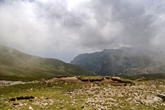 Caraiman góra. Obraz Royalty Free