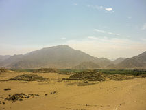 Caral City Ancient Civilization Supe Ruins Royalty Free Stock Images