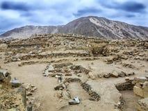 Caral, Perú fotos de archivo libres de regalías