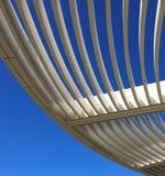 Caramanchão de alumínio curvado Foto de Stock
