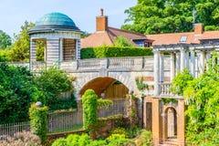 Caramanchão de Hampstead e jardim do monte Fotografia de Stock Royalty Free