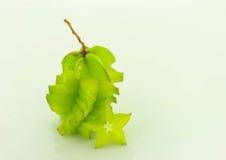 Carambola πράσινο Στοκ Εικόνες