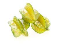 Carambola, φρούτα αστεριών Στοκ Φωτογραφίες