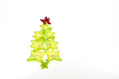 Carambola Christmas tree Royalty Free Stock Images