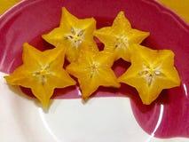 Carambola eller Starfruit Fotografering för Bildbyråer