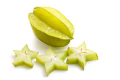 Carambola fruit stock photo
