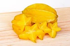 Carambola fruit Stock Images