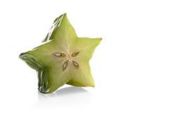 Carambola fruit on white background Royalty Free Stock Images