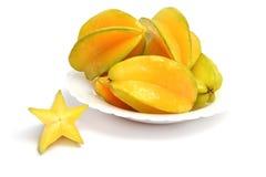 Carambola fruits Stock Image