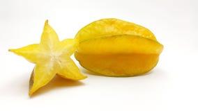 Carambola - fruta de estrela Fotografia de Stock