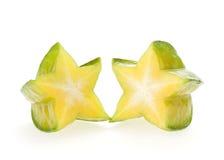 Carambola, gwiazdowa owoc Fotografia Royalty Free