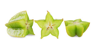 Carambola Gwiazdowa owoc Obraz Stock