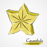 Carambola Stock Photography