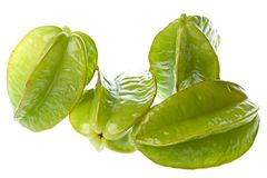 Carambola Isolated Stock Photo