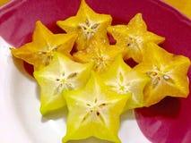 Carambola ou Starfruit Fotos de Stock Royalty Free