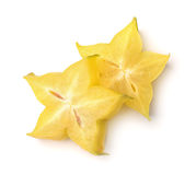 Carambola slices Royalty Free Stock Photos