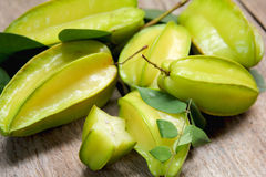 Carambola (Star Fruit) Stock Photo