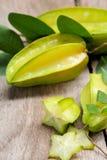 Carambola (Star Fruit) Stock Photo