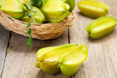 Carambola (Star Fruit) Royalty Free Stock Image
