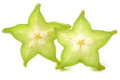 Carambola star fruit Stock Photos