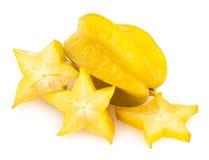 Carambola - star fruit Royalty Free Stock Images