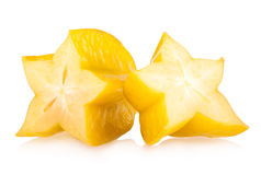 Carambola - star fruit Stock Photography
