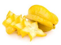 Carambola - star fruit Royalty Free Stock Photo