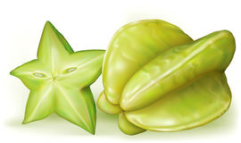 Carambola starfruit Obraz Stock
