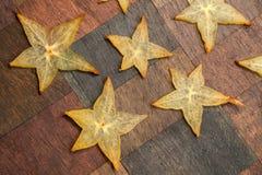 Carambola stars Royalty Free Stock Image